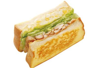 屏東摩斯漢堡-元氣早餐-雞肉三明治