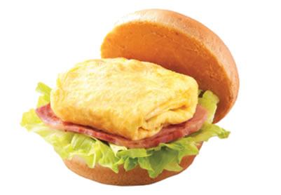 屏東摩斯漢堡-元氣早餐-培根雞蛋堡
