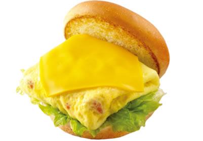 屏東摩斯漢堡-元氣早餐-番茄吉士蛋堡